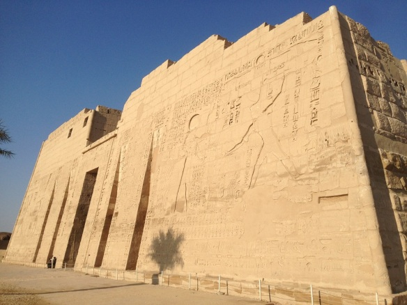 Medinet Habu Temple 1