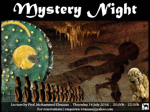 Mystery night poster