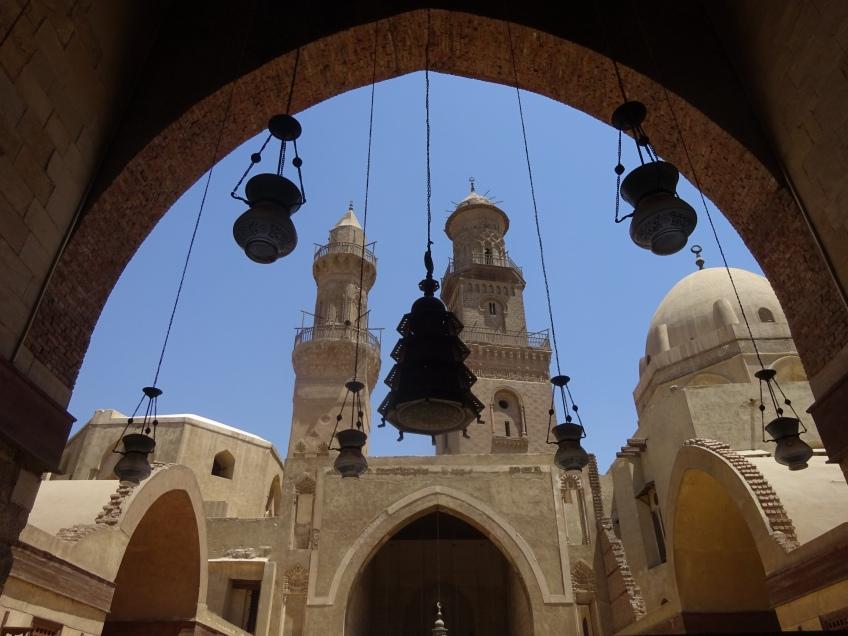 مآذن قلاوون وابن قلاوون - القاهرة
